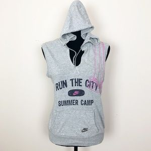 "Nike Run the City ""Summer Camp"" Sleeveless Hoodie"